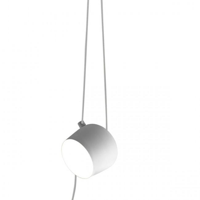 Flos - Aim cavo-spina  lampada a sospensione bianco.