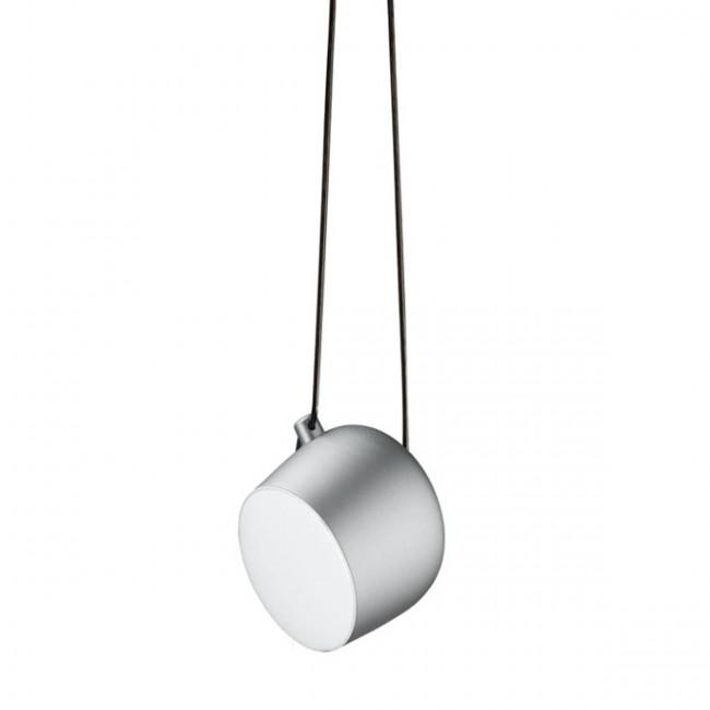 Flos - Aim light silver anodized lampada a sospensione.