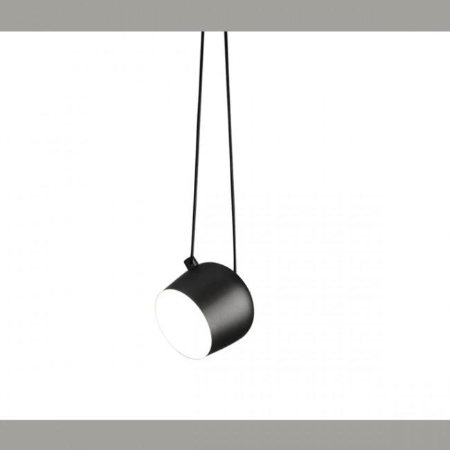 Flos - Aim Small lampada a sospensione nera.