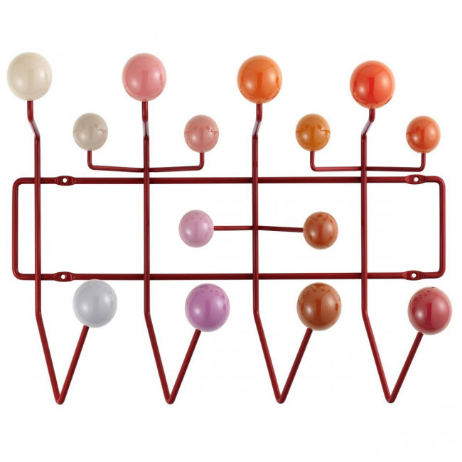 Vitra - Hang it all - Attaccapanni bianco, rosso, verde o nero.