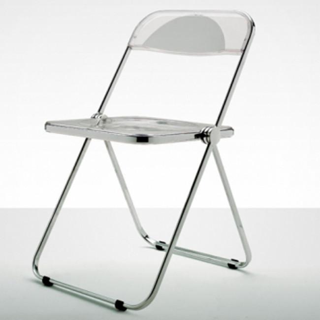 Nerbi Arredamento Castelli - Plia sedia acciaio lucido, plastica ...