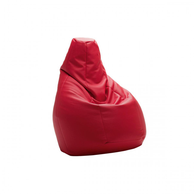 Zanotta - 280 Sacco poltrona anatomica rossa, nera, blù, bianca o giallo.