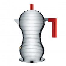 Alessi - Caffettiera Pulcina 3 tz rossa o nera.