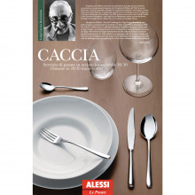 Alessi - Caccia set posate 24 pz.