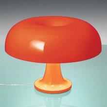 Artemide - Nessino da tavolo arancio o bianco