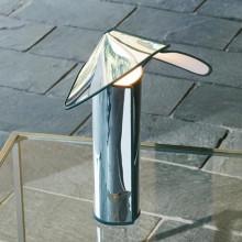 Flos - Chiara T lampada da tavolo alluminium with antracite edge.