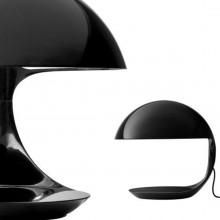 Martinelli Luce - Lampada da tavolo Cobra bianco o nero.