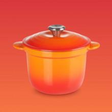Le Creuset - Casseruola Every  per cottura riso, arancio.