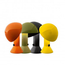 Martinelli Luce - Lampada da tavolo Elmetto bianco, nero, arancio, giallo, verde, azzurro.