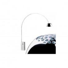 Flos - Arco lampada da terra base marmo E27.