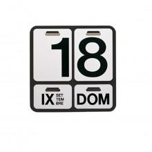 Danese Milano - DE3064A21 Formosa calendario perpetuo nero lettere nere