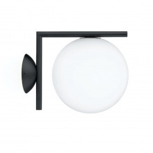 Flos - IC C/W1 outdoor/indoor lampada da parete nero.