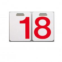 Danese Milano - Ricambi numeri neri o rossi per calendario Formosa.