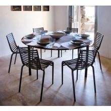 Driade - Confezione da 4 sedie PIP-e    bianco, grigio.