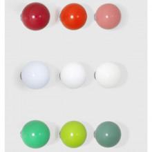 Vitra - Coat Dots - Colori : verde, rosso, bianco